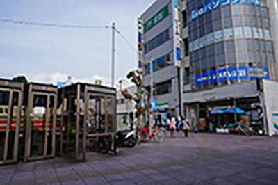 木更津駅東口からのアクセスルート